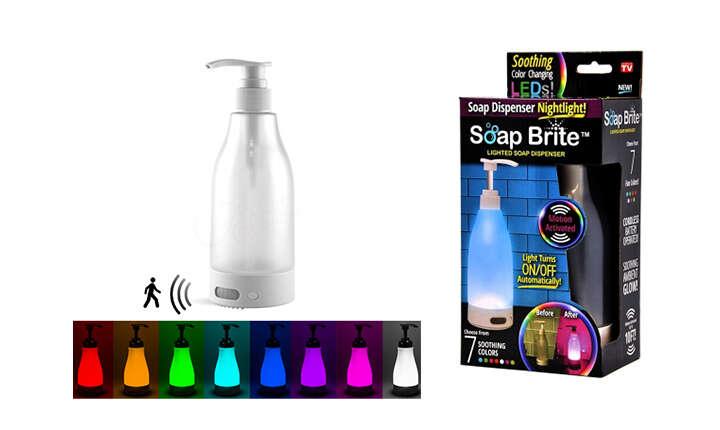 Vodeodolný bezdotykový dávkovač mydla alebo LED dávkovač so sen...