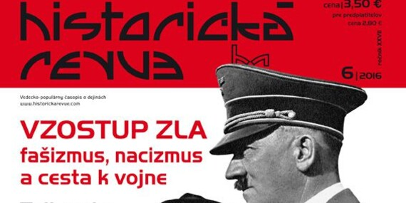 5 alebo 10 starších čísel časopisu Historická Revue/Slovensko