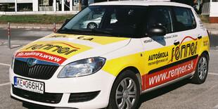 Vozový park autoškoly Renner