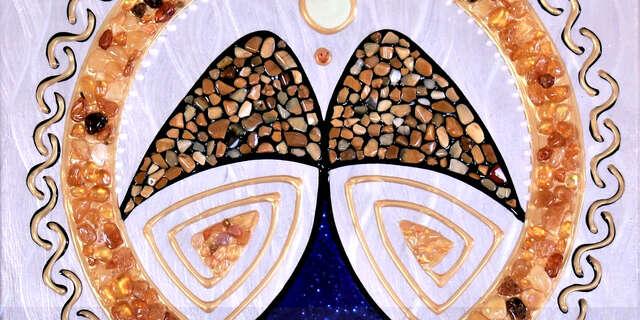 Jedinečný kúsok umenia: mandala vytvorená Ľubom Slejzákom pre vás či vášho blízkeho