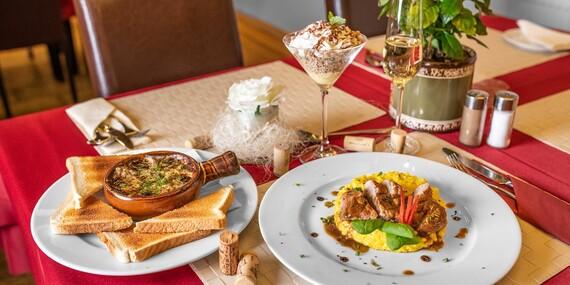 Degustačné menu v reštaurácii Pohoda/Bratislava – Horský park